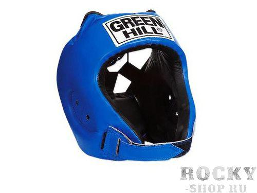 Детский шлем для бокса alfa , Синий Green HillДля бокса<br>Материал: Искусственная кожаВиды спорта: БоксШлем сделан из высококачественной искусственной кожи. Двойная система крепления позволит надежно зафиксировать шлем. Подходит как для тренировок, так и для соревнований. Размер:При подборе шлема следует также учесть, что размеры шлемов можно регулировать за счет специальных застежек. Для выбора шлемов, ориентируйтесь на следующие данные:охват головы - размер48-53 см - S54-56 см - М57-60 см – L61-63 см - XL<br><br>Размер: S