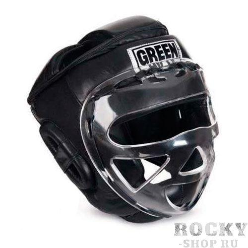 Детский шлем для бокса SAFE, Черный Green HillДля бокса<br>Материал: Натуральная кожаВиды спорта: БоксБоевой и тренировочный шлем. Сделан из высококачественной натуральной кожи. Усиленная защита в области ушей, и подбородка. Лицо защищает пластиковая маска. Размер:При подборе шлема следует также учесть, что размеры шлемов можно регулировать за счет специальных застежек. Для выбора шлемов, ориентируйтесь на следующие данные:охват головы - размер48-53 см - S54-56 см - М57-60 см – L61-63 см - XL<br><br>Размер: S