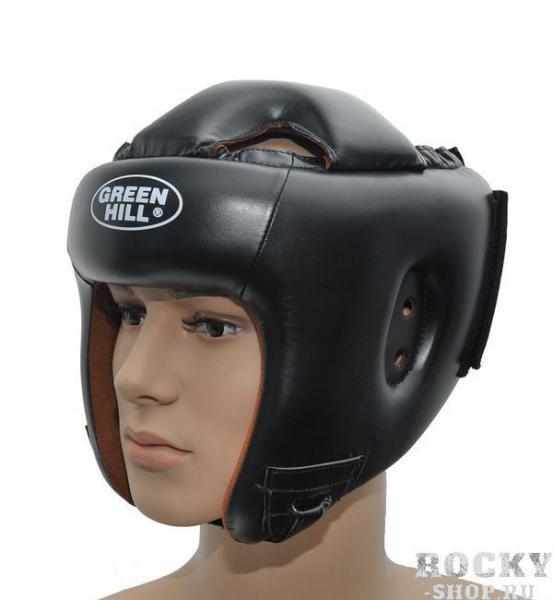 Детский шлем для бокса brave, Черный Green HillДля бокса<br>Материал: Искусственная кожаВиды спорта: БоксШлем для бокса и кикбоксинга. Верх из искусственной кожи. Регулируемый обхват головы. Крепление сзади на резинке и липучке. Подкладка- искусственная замша. Размер:При подборе шлема следует также учесть, что размеры шлемов можно регулировать за счет специальных застежек. Для выбора шлемов, ориентируйтесь на следующие данные:охват головы - размер48-53 см - S54-56 см - М57-60 см – L61-63 см - XL<br><br>Размер: S