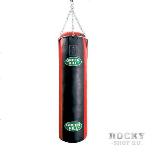 Детский боксерский мешок 80*30, натуральная кожа, 25 кг Green Hill