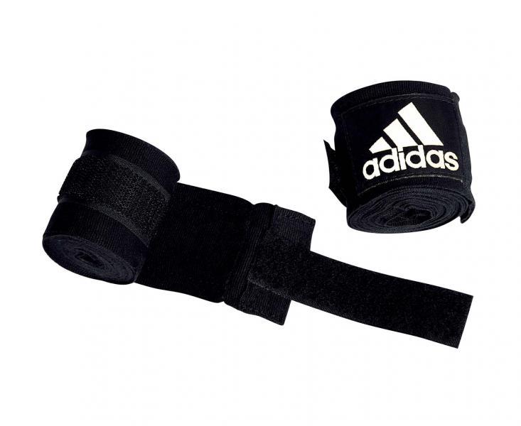 Детские бинты эластичные AIBA New Rules Boxing Crepe Bandage, 2,55 м AdidasДля бокса<br>Широкий эластичный боксёрский бинт. Ширина 5. 7 см. Параметры бинта соответствует новым правилам AIBA.<br><br>Цвет: черные
