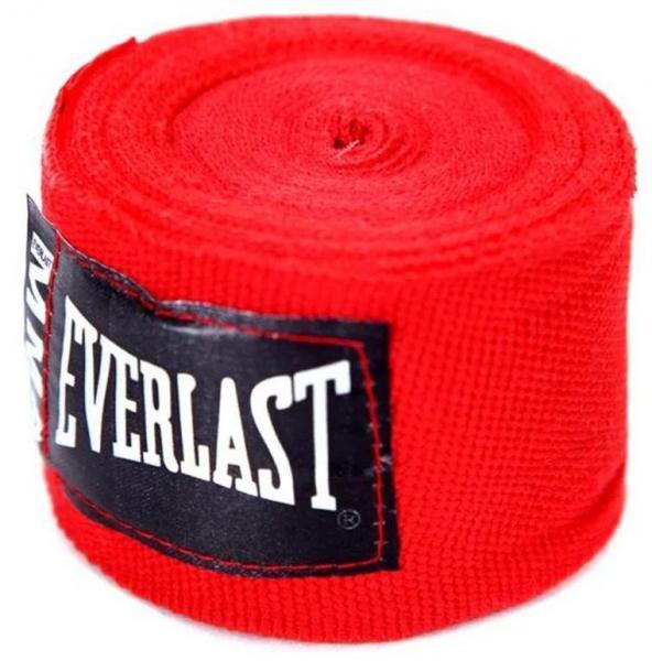Детские бинты боксерские Everlast MMA 2.54м. EverlastДля бокса<br>Эластичный бинт, разработанный специально под перчатки для Смешанных Боевых Искусств (MMA). Бинт сделан из сочетания нейлоновых и полиэстеровых нитей, что позволяет руке дышать и гарантирует безопасность во в ходе занятий спортом. Специальная антимикробная пропитка уничтожает вредоносные бактерии, борясь с плохими запахами и увеличивая время жизни вашей экипировки. Длина 100 дюймов (2,54 метра), можно подвергать машинной стирке.<br><br>Цвет: красные