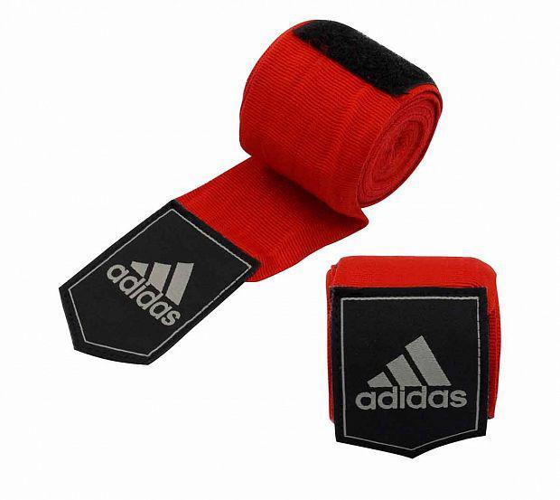 Детские бинты эластичные AIBA New Rules Boxing Crepe Bandage, 3,5 м AdidasДля бокса<br>Широкий эластичный боксёрский бинт. Ширина 5. 7 см. Параметры бинта соответствует новым правилам AIBA.<br><br>Цвет: красные