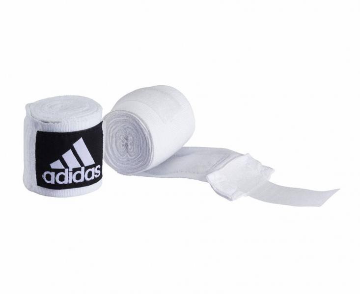 Детский бинт боксерский, 3,5 м AdidasДля бокса<br>Эластичный боксёрский бинт на липучке. <br><br> Ширина 5 см<br> Длина 3,5 метра<br> Крепление на липучке<br> Эластичный материал обеспечивает максимальную фиксацию<br><br>Цвет: Чёрный