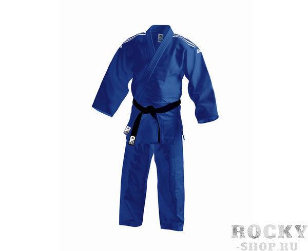 Купить Детское кимоно для дзюдо Contest Adidas синее (арт. 11150)