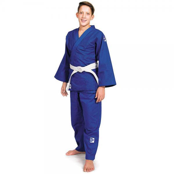 Детское кимоно для дзюдо CLUB c новым логотипом, 150 Green HillДля дзюдо<br>Материал: ХлопокВиды спорта: ДзюдоОбеспечивает комфорт во время тренировок, благодаря своему натуральному составу из 100% хлопка. Плотность ткани 450 г/м2 - оптимальное соотношение износостойкости и легкости. Двойные швы на плечах, груди, рукавах – обеспечивают дополнительную прочность куртки. Вставки в пройме, в районе колен брюк обеспечивают их дополнительную прочность. Возможная усадка после стирки -5%<br><br>Цвет: Синий
