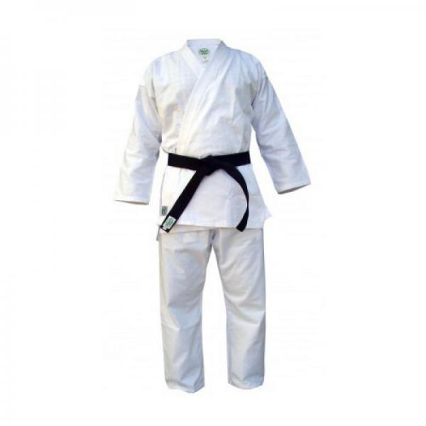 Детское кимоно Каратэ CLUB, 150 Green HillДля карате<br>Материал: ХлопокВиды спорта: КаратэКимоно для занятий карате Club. Материал: 100% хлопок, с поясом. Предназначено для тренировок.<br><br>Цвет: Белый