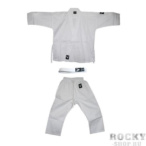 Детская экипировка для карате Детское кимоно для карате VIKING KUMITE V3277, 40-42/150 см VikingДля карате<br>Размер 40-42Рост 150 см&amp;lt;p&amp;gt;Преимущества:&amp;lt;/p&amp;gt;&amp;lt;p&amp;gt;Кимоно карате для профи кумите для тренировок и соревнований.&amp;lt;/p&amp;gt;<br><br>&amp;lt;p&amp;gt;Поликотон- смесь хлопка и японского полиэстера, абсолютно белое.&amp;lt;/p&amp;gt;<br><br>&amp;lt;p&amp;gt;Ребристая ткань плотностью 9-9,5 унций, с белым поясом.&amp;lt;/p&amp;gt;<br><br>&amp;lt;p&amp;gt;Пояс штанов на широкой резинке и на шнуре. &amp;lt;/p&amp;gt;<br><br>&amp;lt;p&amp;gt;Усиление швов, по низу штанин, куртки и рукавов – многострочная прошивка.&amp;lt;/p&amp;gt;<br>