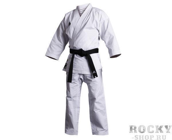 Купить Детское кимоно для карате Kumite WKF белое Adidas 150 см (арт. 11175)