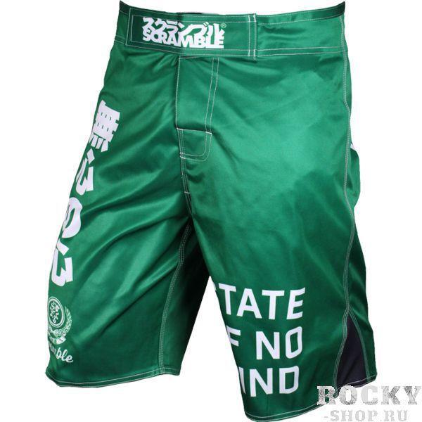 Купить Детские MMA шорты Scramble No Mind Jade (арт. 11225)