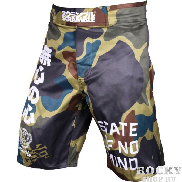 Детские MMA шорты Scramble No Mind Camo