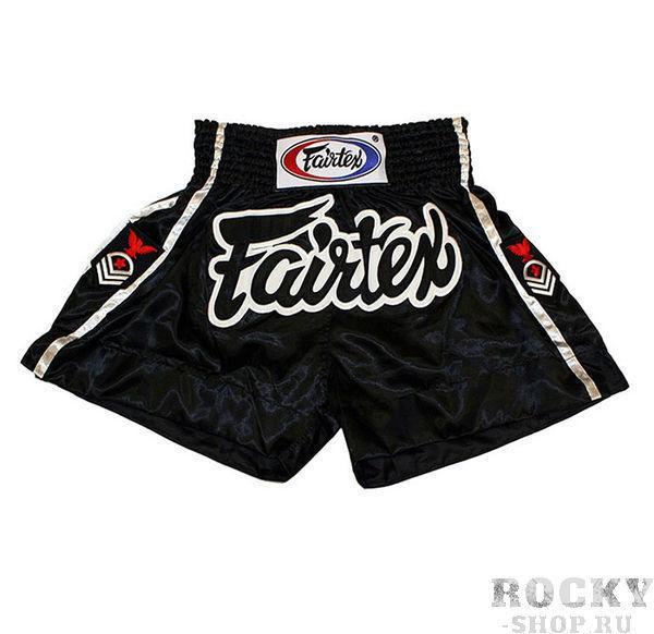 Детские шорты для тайского бокса Fairtex Eagle FairtexДля тайского бокса<br>Строгая, сдержанная модель шорт Fairtex для тайского бокса. BS0621 удобны для тренировок и профессиональных боев. <br><br>Ручная работа - Fairtex Thailand. <br>Материал - сатин<br>Цвет&amp;amp;nbsp;- черный<br><br>Размер: S