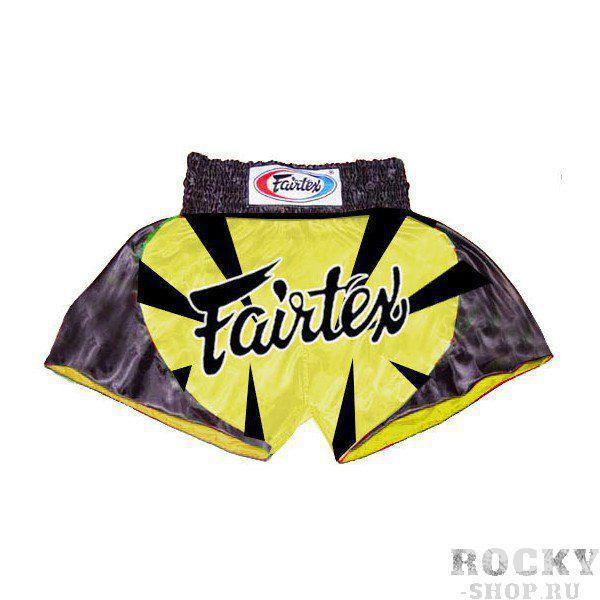 Купить Детские шорты для тайского бокса Fairtex BUMBLE BEE (арт. 11235)