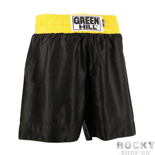 Детские шорты для тайского бокса TBS-8030, Черный Green HillДля тайского бокса<br>Шорты для тайского бокса. Крепление на резиновом поясе. 100% атлас/полиэстер. Высота резинки: 7 см<br><br>Размер: S