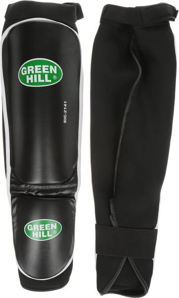 Детские защита голень + стопа COVER, размер S, S Green HillДля тайского бокса<br>Материал: ПолипропиленВиды спорта: КикбоксингМатериал: кож. замдлина голень 28 см, ширина 15 см, длина стопы 16см, ширина стопы 11см. защитная подушка из полипропилена ширина 1,5см.<br><br>Цвет: Черный