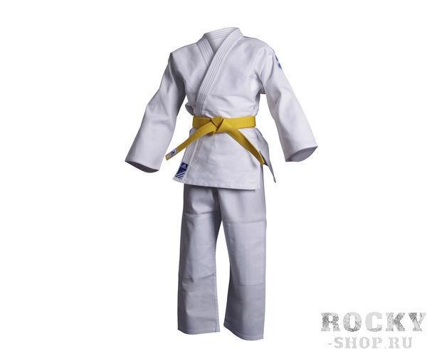 Купить Кимоно для дзюдо Club белое Adidas 140 см (арт. 11469)