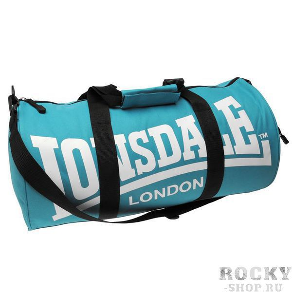 Купить Спортивная сумка Lonsdale Barrel Teal Black (арт. 11485)