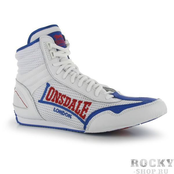 Боксерки Lonsdale Contender White/Blue Lonsdale