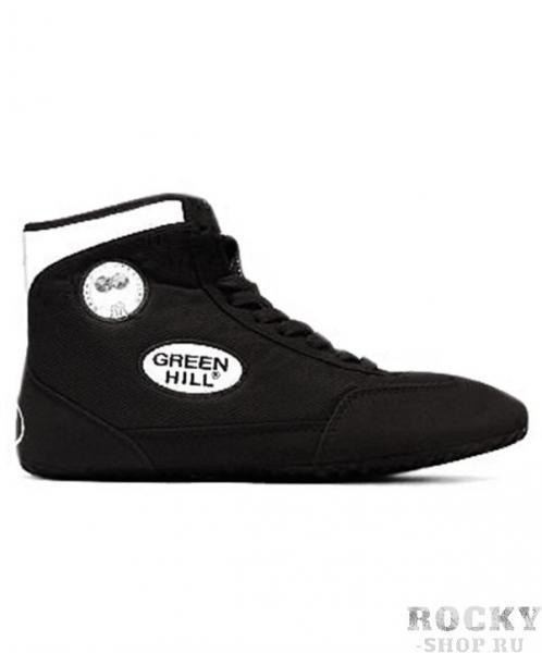 Борцовки Green Hill gwb-3052, Черно-белые Green HillЭкипировка для Борьбы<br>Обувь для борьбы GWB-3052- это борцовки от популярного бренда Green Hill. Благодаря удлиненной голени инадежной шнуровке такая обувь обеспечивает спортсмену комфорт иуверенность наковре.<br><br>Размер: 35