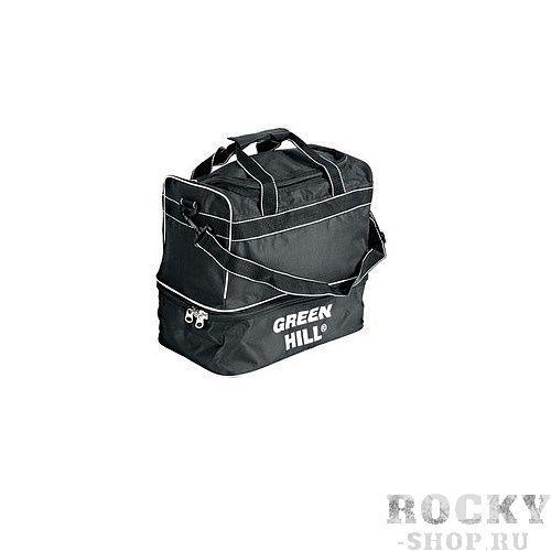 Спортивная сумка Green Hill SB-6424, 45*40*30 Green HillСпортивные сумки и рюкзаки<br>Вместительная сумка отлично подойдет для похода в спортзал и путешествий. Сумка изготовлена из прочного износостойкого полиэстера, который очень устойчив к выцветанию. Удобное расположение карманов и отделений обеспечивает удобное хранение вещей. Спортивную сумку Green Hill SB-6424 можно носить как в руках, так и перекинув через плечо с помощью длинной лямки.Размер: 45 х 30 х 40 см.<br>