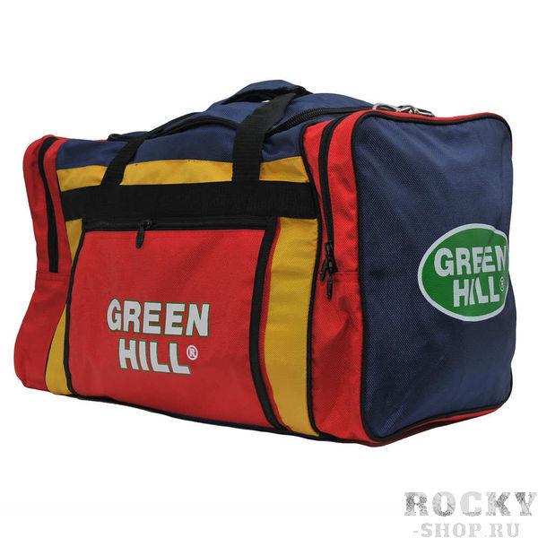 Спортивная сумка Green Hill SB-6421, размер M, 58*31*31 Green HillСпортивные сумки и рюкзаки<br>Удобная спортивная сумка. Размеры58*31*31 см.<br>