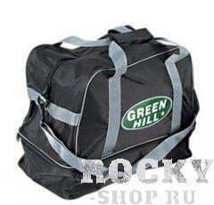 Спортивная сумка Green Hill SB-6437, 47*43*25 Green HillСпортивные сумки и рюкзаки<br>Легкая, прочная и непромокаемая спортивная сумка отлично подойдет для спортивной экипировки. Просторное основное отделение надежно застегивается на молнию. Для комфортного ношения предусмотрены ручки и регулируемый наплечный ремень. Размер: 47 х 43 х 25 см.<br>