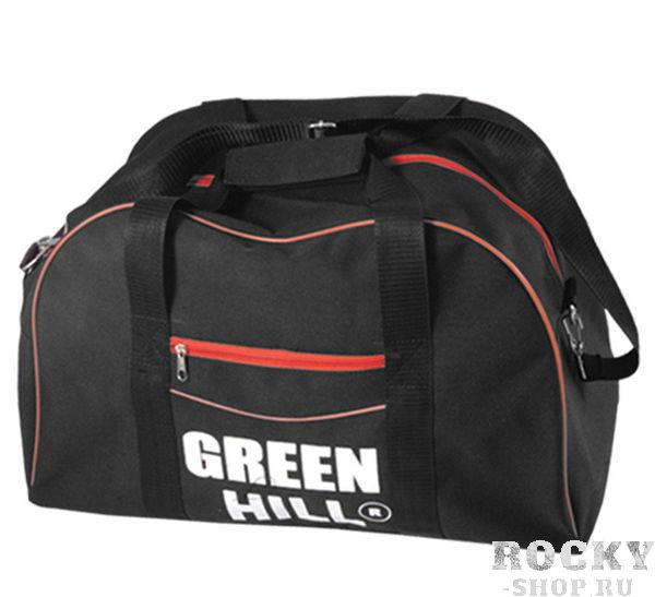 Спортивная сумка Green Hill SB-6456, 47*32*30 Green HillСпортивные сумки и рюкзаки<br>Удобная сумка от Green Hill идеально подойдет для переноски спортивной экипировки и не только. Она имеет различные отделения для аксессуаров, которые застегиваются на молнию. Для удобной носки предусмотрены две ручки и ремень через плечо. Сумка спортивная Green Hill SB-6456 станет отличным выбором!Размер: 47 x 32 x 30 см<br>