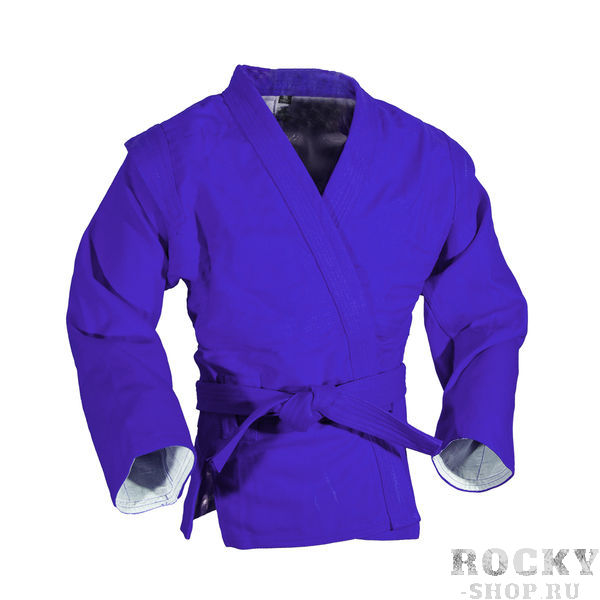 Купить Куртка для самбо sambo stile от Green Hill, лицензия фср Hill синий (арт. 11613)