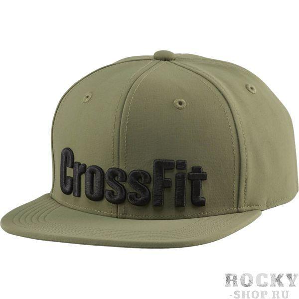 Бейсболка Reebok CrossFit ReebokБейсболки / Кепки<br>Снепбек (бейсболка) Reebok CrossFit. Внутренняя лента с технологией Speedwick эффективно отводит лишнюю влагу.<br><br>Размер INT: S