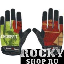 Перчатки Reebok CrossFit ReebokПерчатки для фитнеса<br>Перчатки Reebok CrossFit. Эти перчатки были специально созданы для занятий кроссфитом. Перфорации и гелевые подушечки для вентиляции и поглощения энергии удара. Технология Speedwick отводит влагу с поверхности тела, оставляя ощущение сухости и комфорта. Специальный ремешок на большом пальце позволит быстро и эффективно избавиться от лишней влаги. Сетчатые вставки между пальцами для вентиляции и комфорта. Принт в виде логотипа CrossFit позволит тебе продемонстрировать всем свою приверженность фитнесу на пределе возможностей.<br><br>Размер: M