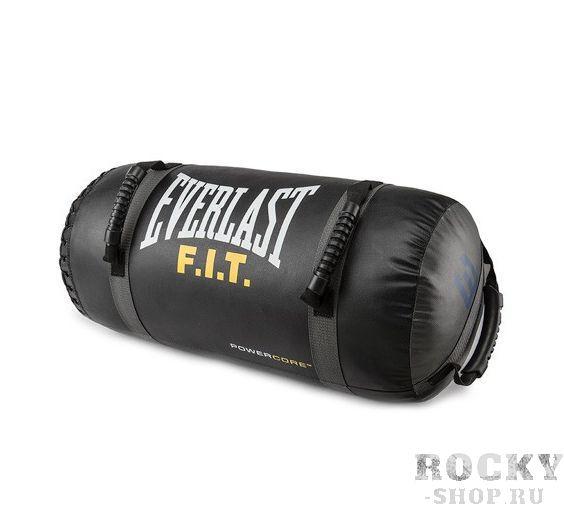 Мешок Everlast Powercore 14 кг, 30*56 см EverlastАксессуары для фитнеса<br>Мешок для кроссфита 14 кг. с креплениями для тренировки мышц верхней части тела - плечевого пояса и пресса. Подходит для отработки как ударных, так и силовых упражнений. Ручки с несколькими позициями позволяют отрабатывать тренировки с высокой интенсивностью, поскольку позволяют менять хваты, а соответственно и подходы не меняя тренировочного снаряда. Размеры 30*56 смВес 14 кг.<br>