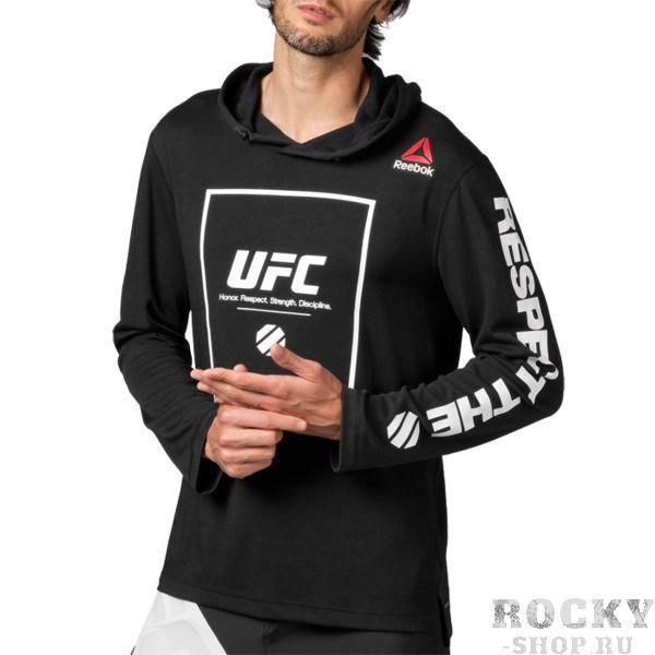 Худи UFC Fan Pullover ReebokТолстовки / Олимпийки<br>Худи UFC Fan Pullover. Уход: машинная стирка в холодной воде, деликатный отжим, не отбеливать. Состав: 76% полиэстер, 24% вискоза.<br>