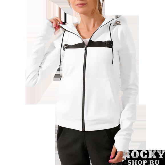 Купить Женская кофта с капюшоном Reebok Combat Training Oversize (арт. 11701)