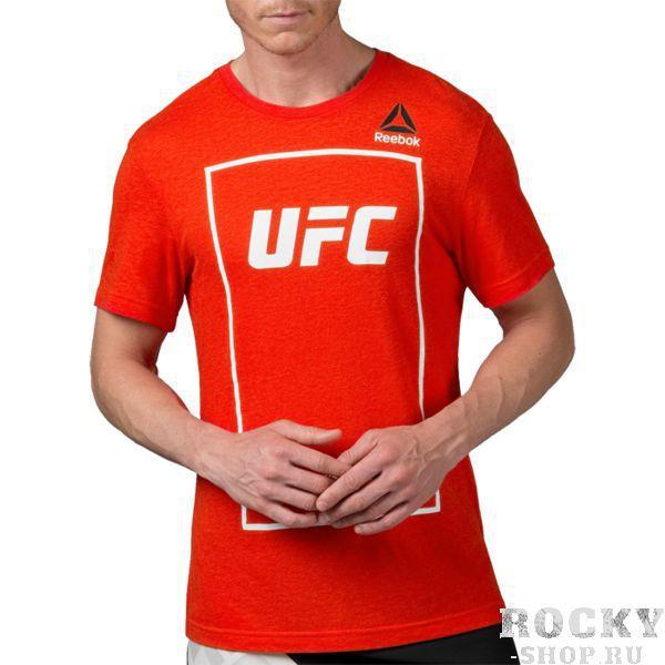 Футболка Reebok UFC ReebokФутболки / Майки / Поло<br>Футболка Reebok UFC. Официальная футболка Reebok UFC. Состав: 50% полиэстер, 38% хлопок, 12% вискоза.<br>