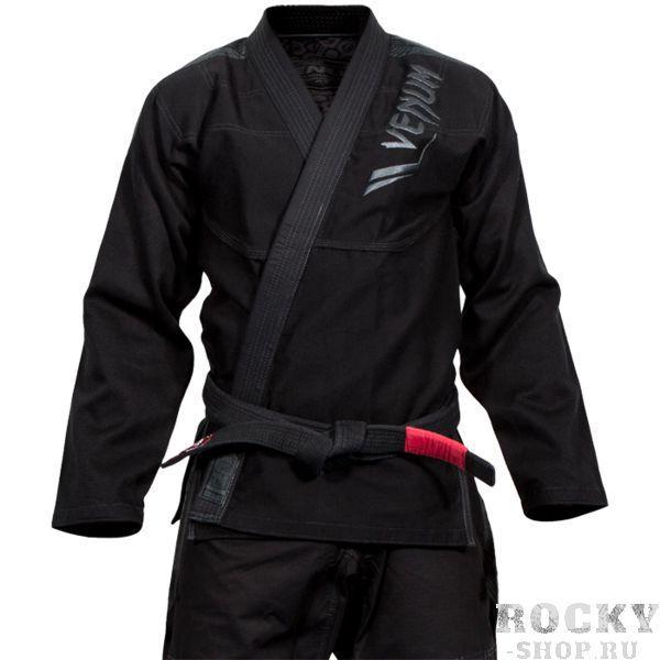 Кимоно Venum Elite VenumЭкипировка для Джиу-джитсу<br>Кимоно(ги) для БЖЖ(бразильское бразильское джиу джитсу) Venum Elite Black/Black. Представляем Вам лимитированную линейку от Venum – Ги Elite, предназначенное для ежедневного интенсивного использования как на тренировках, так и на соревнованиях любого уровня. Новое кимоно для бжж от Venum Elite выполнено из самого лучшего хлопка, представленного в настоящее время на рынке. Плотность куртки ткани составляет 500gsm (грамм на кв. метр). Куртка выполнена по технологии «золотого плетения», обеспечивает максимальный комфорт и свободу движений. Зона промежности на брюках дополнительно усилена, чтобы предотвратить возможность протирания. Все наиболее стрессовые зоны Ги, такие как воротник, плечи, колени и манжеты, дополнительно усилены. Ги украшено оригинальным и простым вышитым логотипом Venum Elite, который сочетает в себе стиль и практичность. Это Ги прекрасно подойдет новичкам и уже опытным спортсменам. Технические характеристики: - Ткань куртки: хлопок жемчужного плетения. - Плотность ткани куртки: 500 GSM. - Армированный воротник для дополнительной устойчивости. - Заранее обработанный хлопок для меньшей усадки во время использования. - Штаны: износостойкий хлопок. - Треугольная панель расположена в промежности для увеличения диапазона движения. - Плечи: Тканые патчи. - Передний логотип: вышивка. - Задний логотип: вышивка. - логотипы на брюках: вышивка. - Швы выполнены в контрастном белом цвете. Состав: 100% хлопок. Пояс в комплект НЕ входит.<br><br>Размер: A2