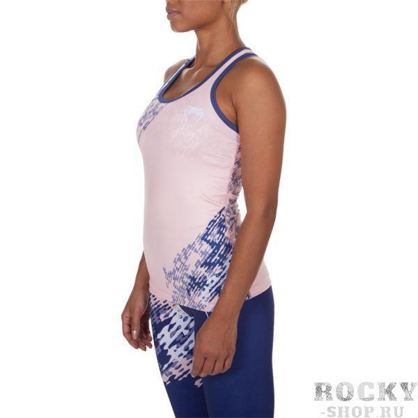 Купить Женская тренировочная майка Venum Neo Camo Navy Blue/Coral (арт. 11756)