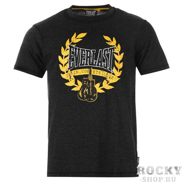 Футболка Everlast Crew Neck Large Black EverlastФутболки / Майки / Поло<br>Футболка Everlast Crew Neck Large Black.Классика от легендарного бренда. Приятная на ощупь футболка подойдет для повседневной носки.Состав:60% хлопок, 40% полиэстер.<br>