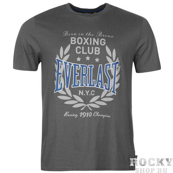 Футболка Everlast Printed Charcoal EverlastФутболки / Майки / Поло<br>Футболка Everlast Printed CharcoalТоповый вариант для повседневной носки и занятий спортом. Футболки Boxing Club от бренда Everlast отличаются отлчиным качеством, стилем и неповторимостью.Состав:100% - хлопок.<br>