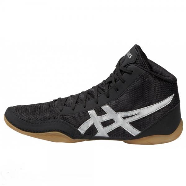 Asics j504n 9093 matflex 5 обувь для борьбы AsicsЭкипировка для Борьбы<br>• Верх из сетки, обеспечивающий циркуляцию воздуха, - для максимального комфорта. • Карман для шнурков на язычке обуви. (В соответствии с официальными правилами проведения соревнований по борьбе, шнурки борцовок должны быть надежно зафиксированы)• Верх борцовок сделан из синтетической кожи в сочетании с сетчатыми вставками. • Подошва на основе натурального каучука. • Колодка California.<br><br>Размер: 15