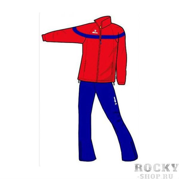 MIKASA MT145 0062 AKITA Костюм спортивный W MikasaСпортивные костюмы<br>Спортивный костюм MIKASA MT145 0062 AKITA •Стильный женский спортивный костюм изготовлен на 100% из полиэстера.•Материал, состоящий из особой микронити, обеспечивает превосходную вентиляцию и при этом надежную защиту от ветра.•Ткань очень легкая, что добавляет явного удобства при ношении.•На куртке имеются удобные карманы на молнии, брюки без карманов.•Нижняя часть затягивается на резинке, резинки также есть на манжетах, чтобы предотвратить сползание и проникновение холодного воздуха.<br>