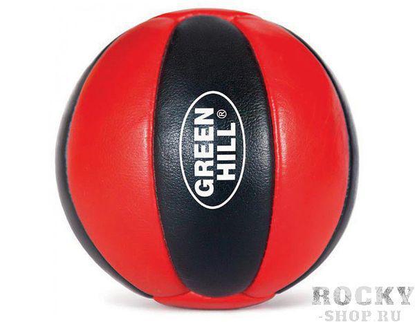Мяч медицинбол, 2 кг Green HillМедицинболы<br>Мяч набивной. Верх сделан из натуральной кожи. <br> Натуральная кожа<br> Плотный наполнитель<br>