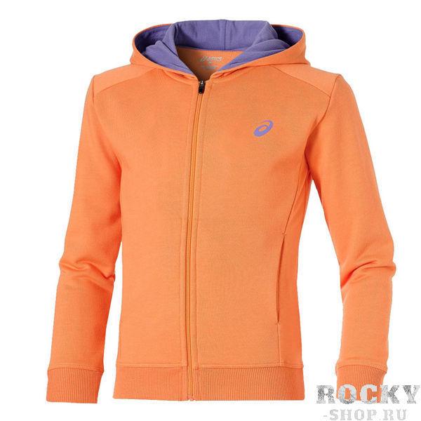 Купить Asics 130918 0558 girls full zip hoodie jr 11/12 толстовка детская (арт. 12112)