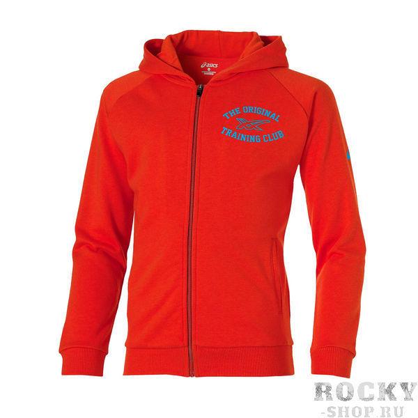 Купить Asics 130910 0540 boys full zip hoodie jr 11/12 толстовка детская (арт. 12115)