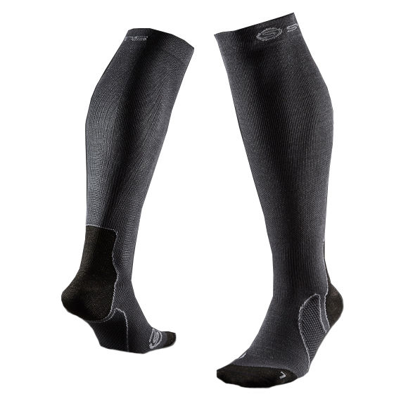 SKINS ZB99599349039 RECOVERY COMPRESSION SOCKS Носки (серый)
