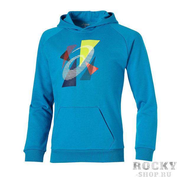 Купить Asics 130909 0823 boys hoodie jr 13/14 толстовка детская (арт. 12127)