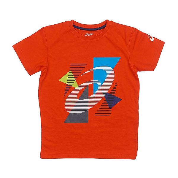 ASICS 130906 0540 BOYS SS TOP JR 11/12 Футболка детская AsicsФутболки / Майки / Поло<br>Детская футболка ASICS 130906 0540 BOYS SS TOP JR 11/12 (146-152) •Яркая детская футболка изготовлена из натурального хлопка с добавлением полиэстера.•Хлопок обеспечивает хороший воздухообмен, а полиэстер обладает отличными влагоотводящими свойствами.•Футболка легко стирается и сохраняет свой первоначальный вид.•Модель со стильным рисунком обязательно понравится детям. •Футболка предназначена для ребенка в возрасте 11-12 лет или ростом 146-152 см.<br>