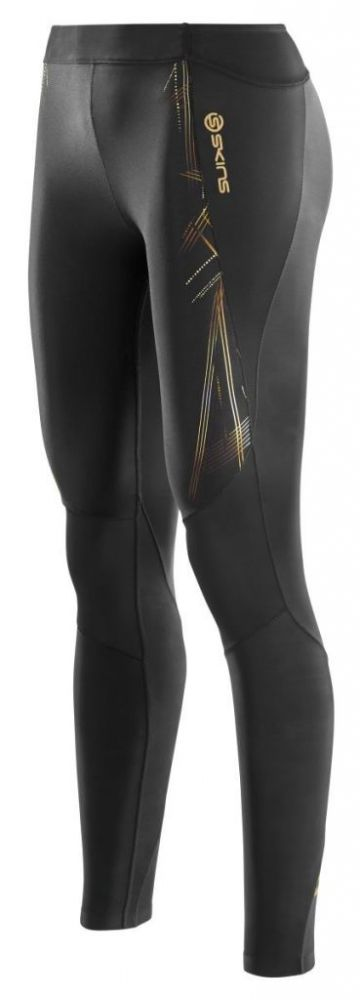 SKINS B33156001 A400 WOMENS GOLD LONG TIGHTS Тайтсы SkinsКомпрессионные штаны / шорты<br>B33156001 Тайтсы длинные Skins A400 Womens Gold&amp;nbsp;&amp;nbsp;Long Tights<br><br>Размер INT: XL