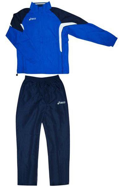 ASICS T655Z5 4350 SUIT EUROPE JR 140 Костюм спортивный детский AsicsСпортивные костюмы<br>Спортивный костюм ASICS T655Z5 4350 SUIT EUROPE JR 140 •Стильный спортивный детский костюм на 100% изготовлен из микрофибры.•Технологичная ткань обладает прекрасной способностью впитывать влагу и отличной воздухопроницаемостью.•Куртка с контрастными вставками по бокам и отделанными круглыми объёмными швами. •Удобные карманы на молнии на куртке и брюках.•Брюки фиксируются на эластичной резинке с дополнительным шнурком. •Боковая молния в нижней части брючин для регулирования их ширины.<br>