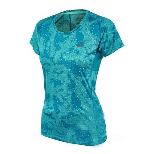 Купить Asics 125150 0124 w's fujitrail graphic ss футболка (арт. 12231)