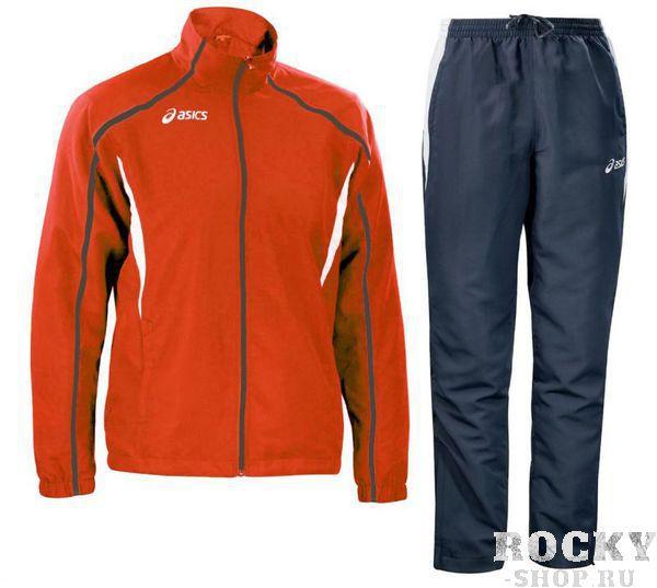 ASICS T655Z5 2650 SUIT EUROPE JR 128 Костюм спортивный детский AsicsСпортивные костюмы<br>Спортивный костюм ASICS T655Z5 2650 SUIT EUROPE JR 128 •Стильный спортивный детский костюм на 100% изготовлен из микрофибры.•Технологичная ткань обладает прекрасной способностью впитывать влагу и отличной воздухопроницаемостью.•Куртка с контрастными вставками по бокам и отделанными круглыми объёмными швами. •Удобные карманы на молнии на куртке и брюках.•Брюки фиксируются на эластичной резинке с дополнительным шнурком. •Боковая молния в нижней части брючин для регулирования их ширины.<br>